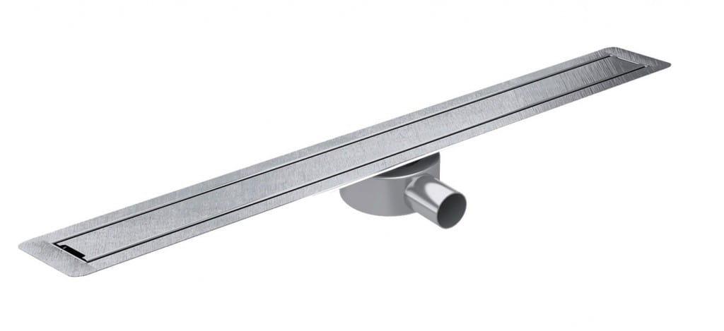 Odpływ liniowy Wiper Slim Invisible WIS 100 cm metalowy syfon  SIN1000