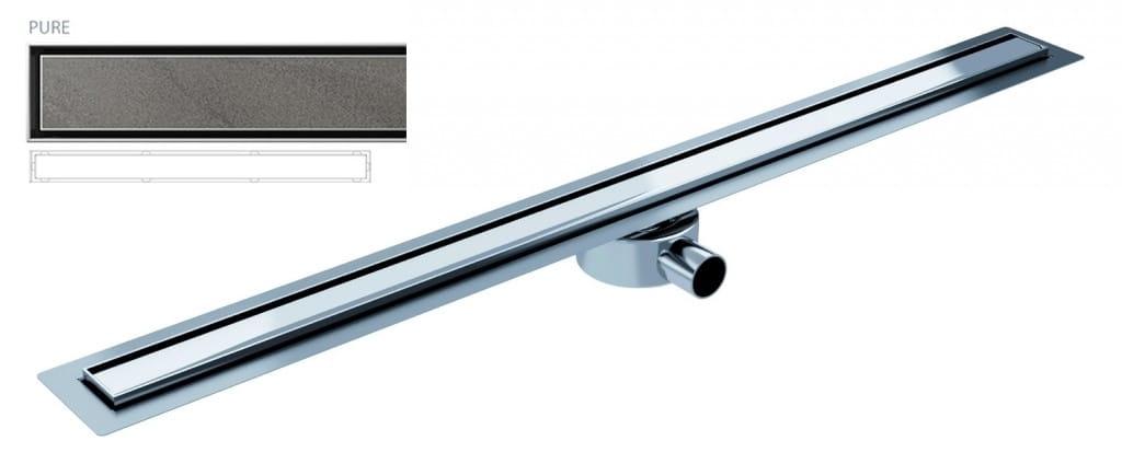 Odpływ liniowy Wiper Elite Slim Pure  90 cm metalowy syfon  EL900PU