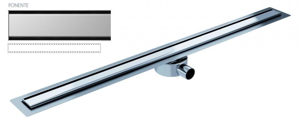 Odpływ liniowy Wiper Elite Slim Ponente 80 cm metalowy syfon  EL800PO