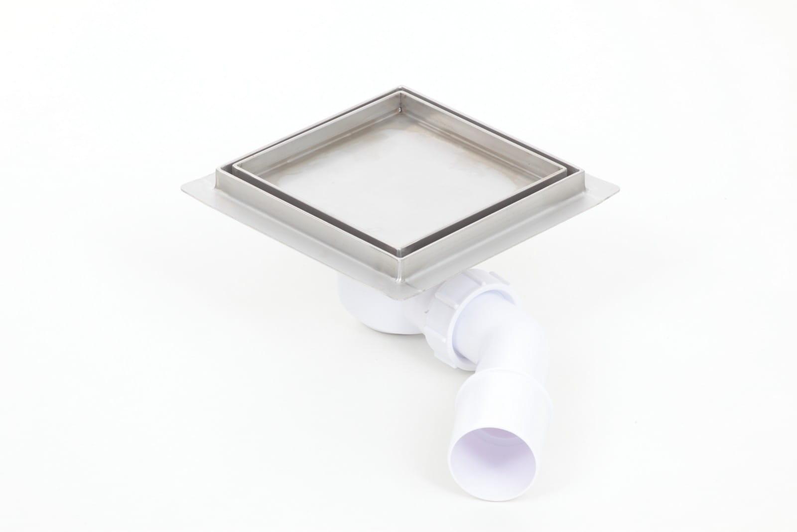 Kesmet wpust podłogowy 20x20cm 200x200KF_p Ceramic (syfon plastikowy)