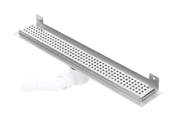 Kesmet Wall Silver Caro odpływ ścienny 1100KWF_p 1100mm (syfon plastikowy)