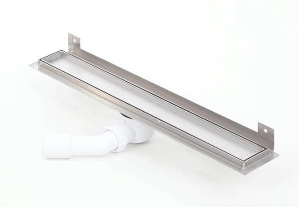 Kesmet Wall Silver Ceramic Tile odpływ ścienny 800KWF_p 800mm (syfon plastikowy)
