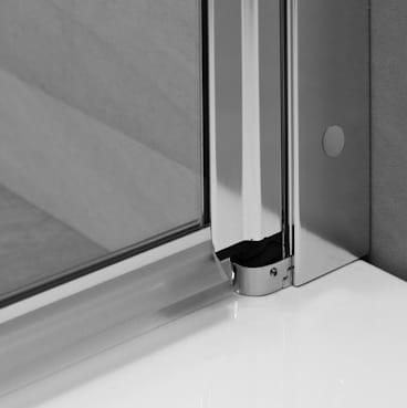 Kabina prysznicowa trójścienna 80x110x80 Radaway EOS II - drzwi