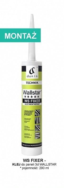 Wallstar WS Fixer klej do gzymsów, profili ściennych, listew przypodłogowych poj. 290 ml