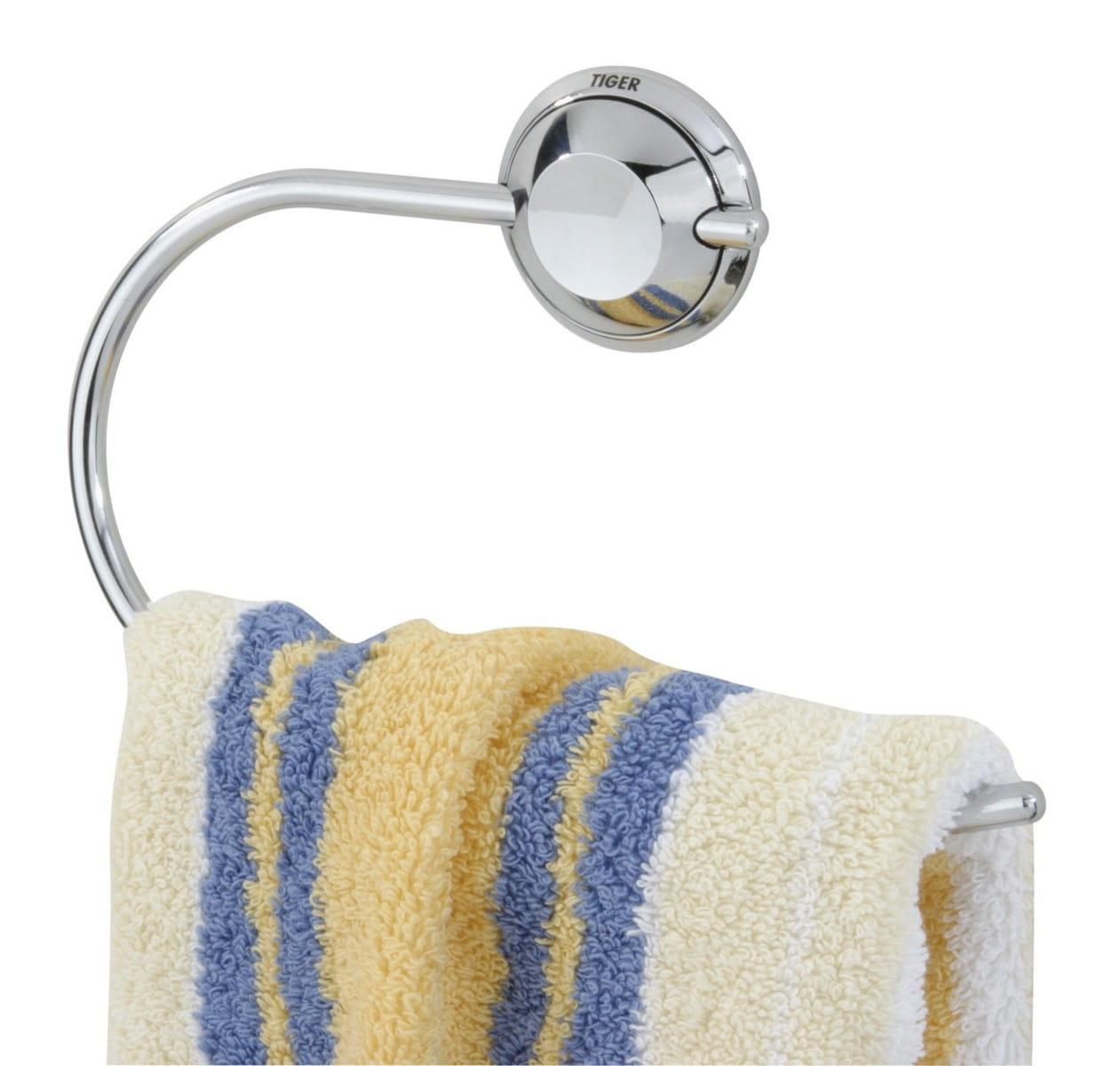 Tiger Torino wieszak ręcznikowy ring chrom 3814.03