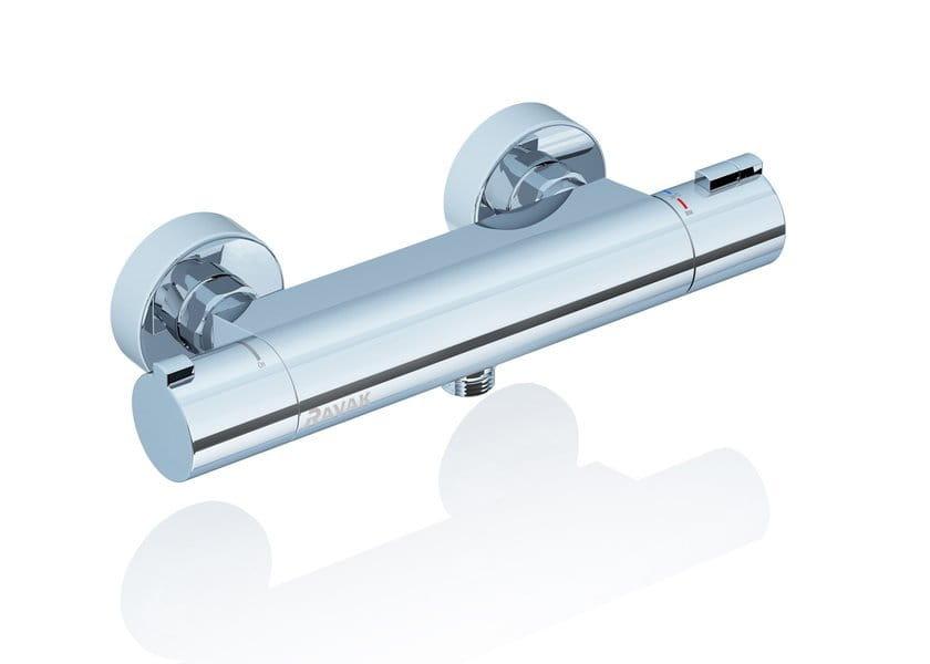 Ravak bateria prysznicowa naścienna termostatyczna bez zestawu TE 072.00/150  X070051