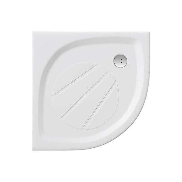 Ravak brodzik prysznicowy Elipso Pro-80 biały,niski  XA234401010