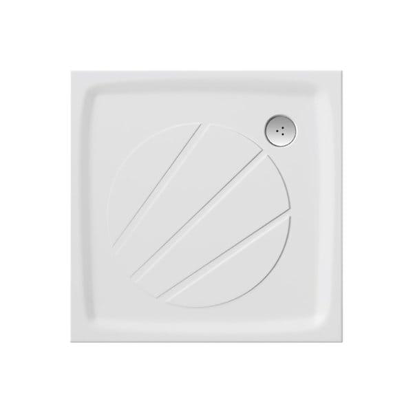 Ravak kwadratowy brodzik prysznicowy Perseus Pro-80 biały XA034401010