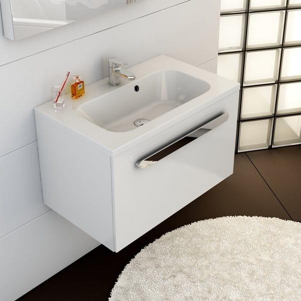 Ravak umywalka Chrome 600  biała z otworami XJG01160000