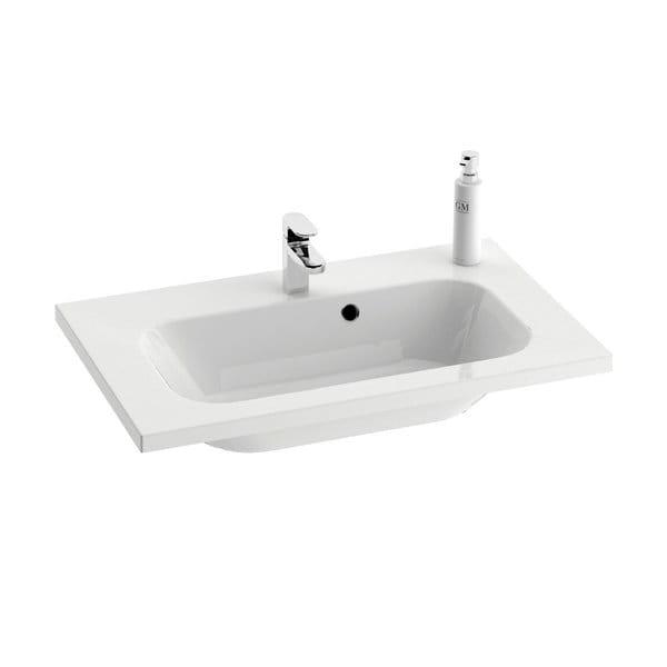 Ravak umywalka Chrome 700 biała z otworami  XJG01170000