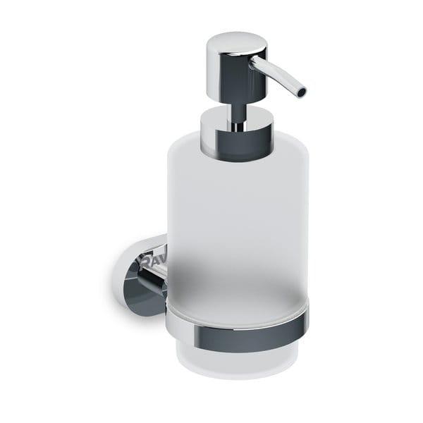 Ravak Chrome dozownik na mydło w płynie CR 231 chrom/szkło X07P223
