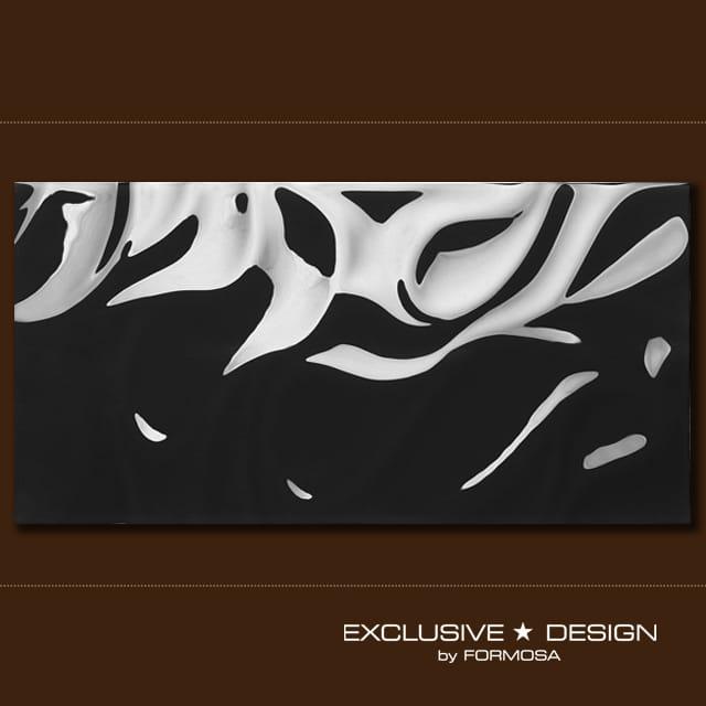 MIDAS płytka 3D Silk black 600x300x8 mm A-TGL08XX-017