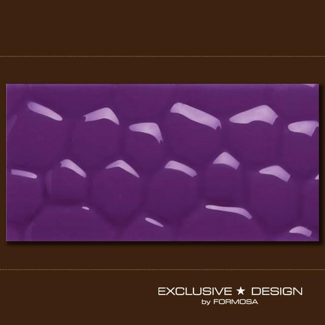 MIDAS płytka 3D Cobble purple 600x300x8 mm A-TGL08XX-010