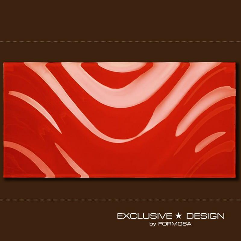 MIDAS płytka 3D Top Wave red 600x300x8 mm A-TGL08XX-003