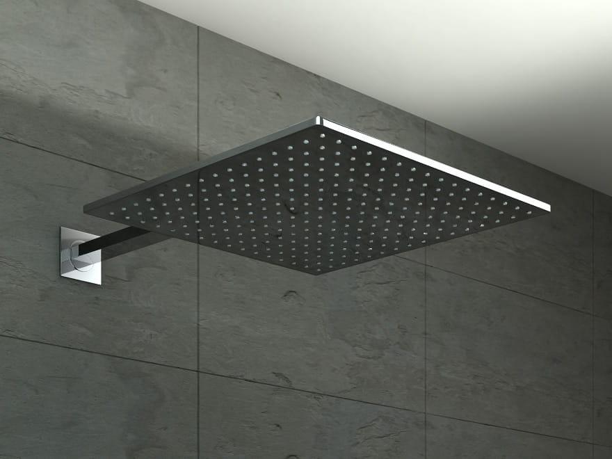Kohlman deszczownica kwadratowa Q35  35x35 cm chrom