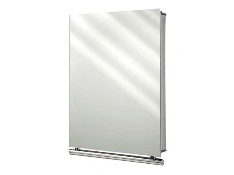 Tiger Boston szafka toaletowa z lustrem stal szczotkowana 3049.09