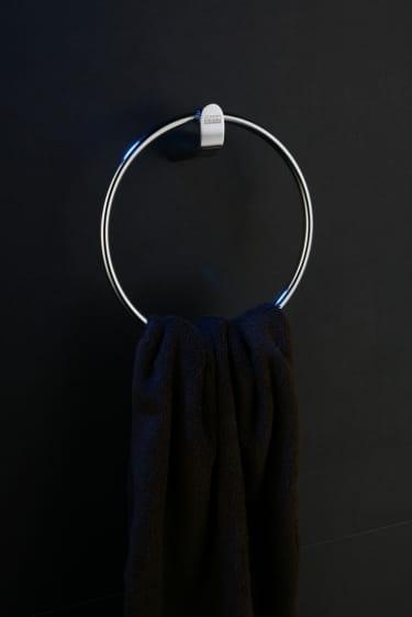 Art Platino Emira wieszak okrągły na ręcznik chrom EMI-85042