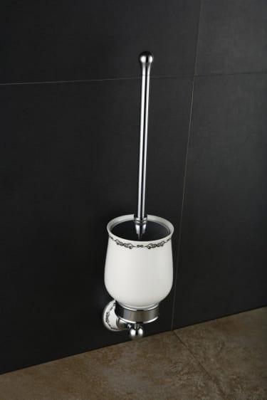 Art Platino Nikolas szczotka WC wisząca chrom NIK-57090