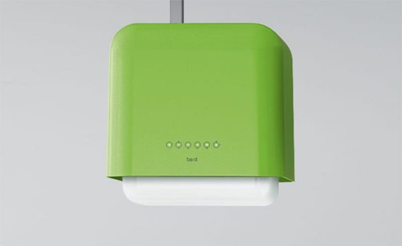 Best Dado okap kuchenny ,zielono- biały    07G02601