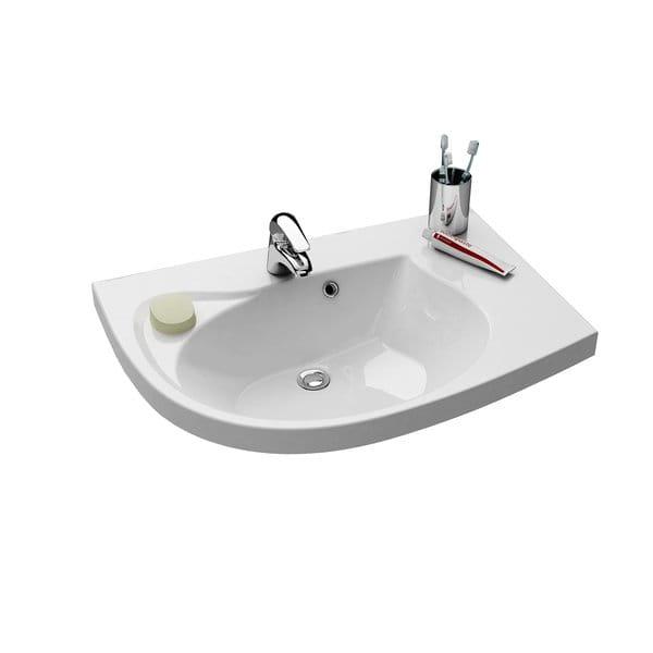 Ravak Rosa Comfort umywalka meblowa prawa 78 cm XJ8P11N0000