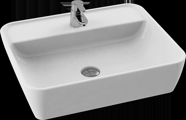 CeraStyle  umywalka  One, prostokątna 55x45 cm 076700-u