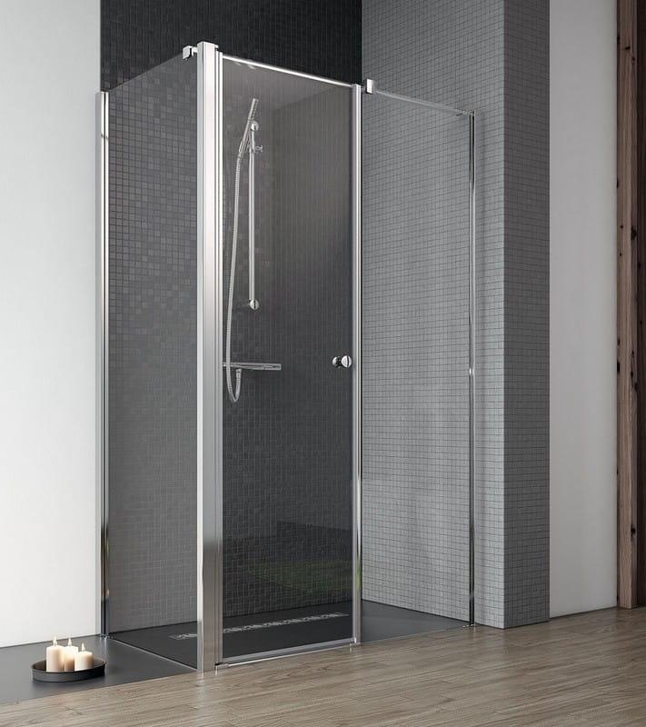 Drzwi Radaway EOS II KDS 120 cm prawe, wys. 195 cm szkło przejrzyste 3799484-01R WYPRZEDAŻ
