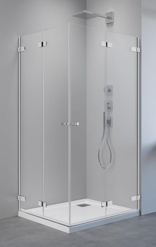 Kabina prysznicowa kwadratowa Radaway  Arta KDD B  80x80 cm, szkło przejrzyste wys. 200 cm, 386160-03-01L/386160-03-01R