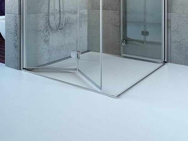 Kabina prysznicowa 90 x 90 cm Radaway Arta KDD B - drzwi z listwą