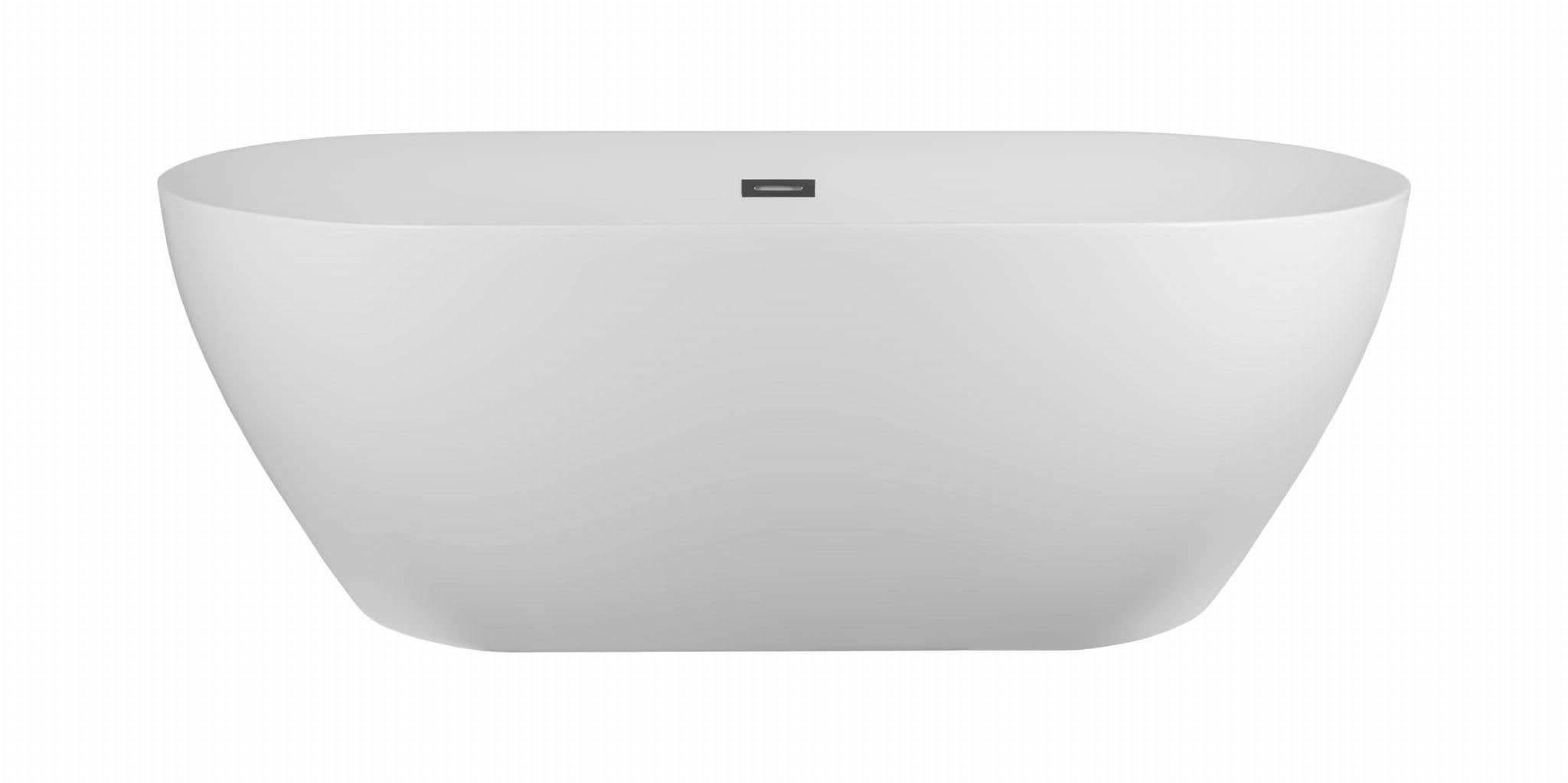 Corsan wanna wolnostojąca akrylowa OLVENA 169x79x58 cm  E-041  + syfon klik-klak/ biała