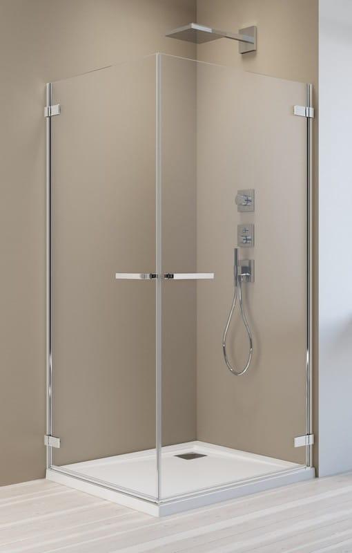 Kabina prysznicowa prostokątna Radaway Arta KDD I 80 x 100 szkło przejrzyste wys. 200 cm, 386060-03-01L/386062-03-01R