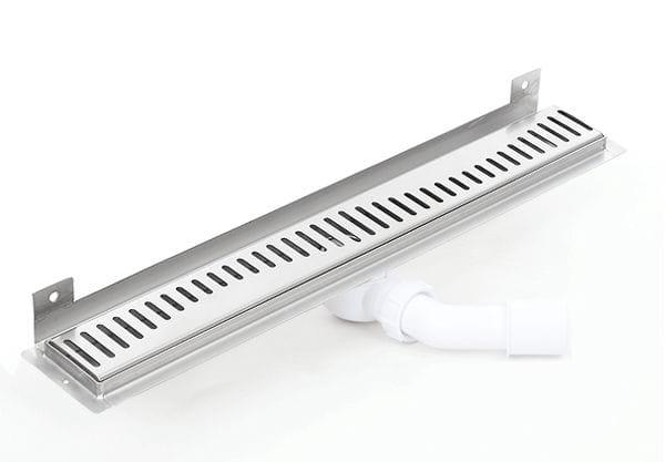 Kesmet Wall Silver Rainbow odpływ ścienny 1100KWF_p 1100mm (syfon plastikowy)