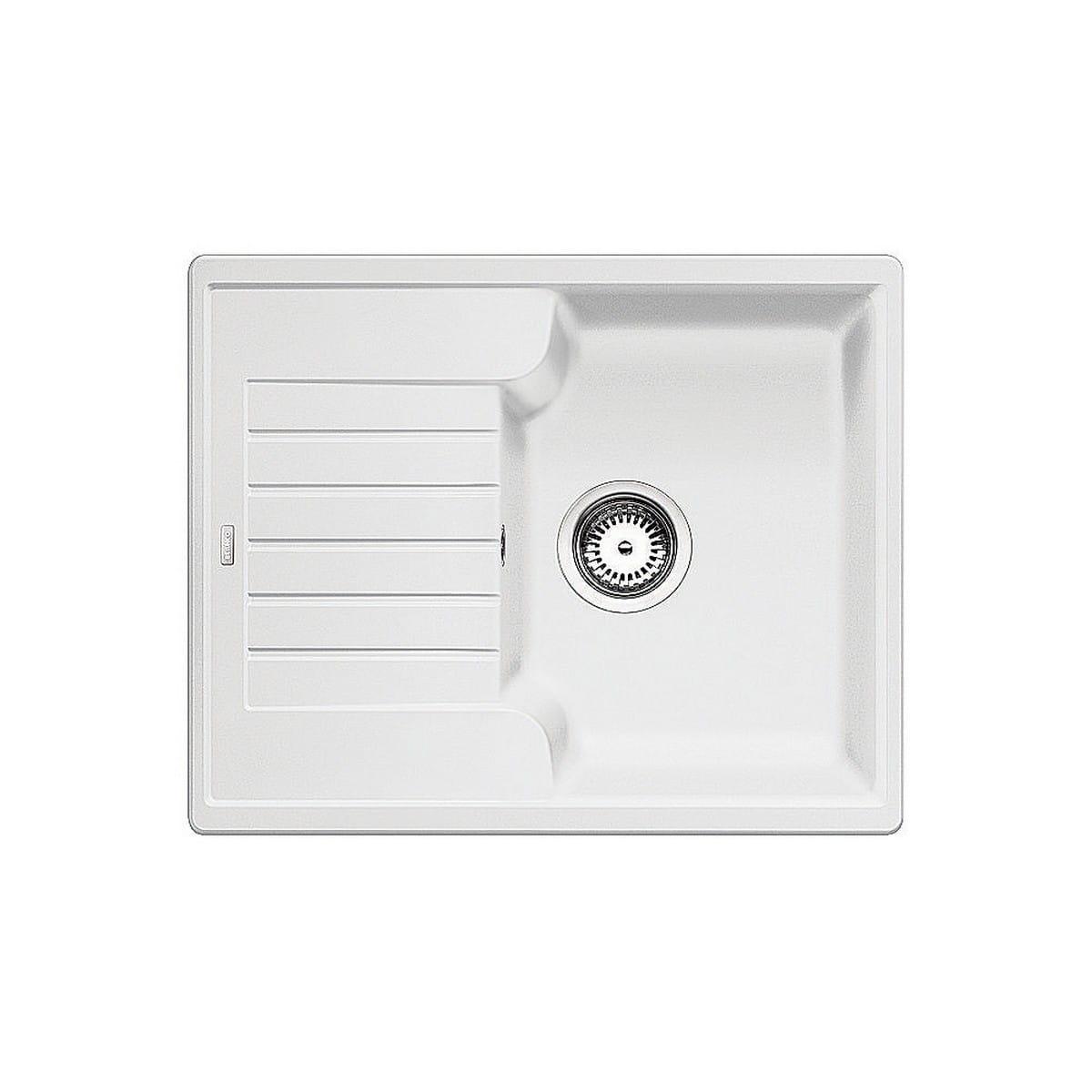 BLANCO Zlewozmywak ZIA 40 S biały bez korka 516922