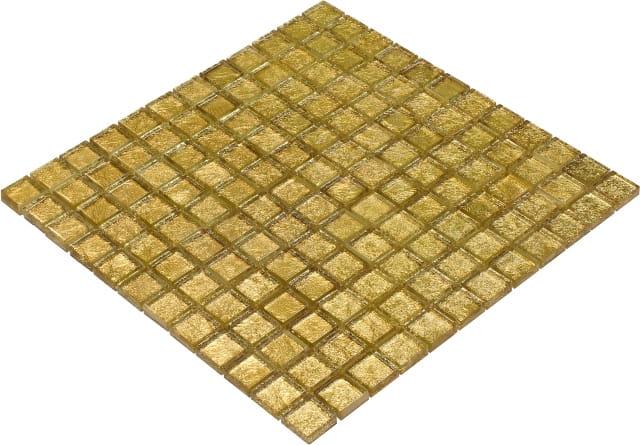 Goccia Color Line mozaika szklana złota,  30x30 cm      CLS1601
