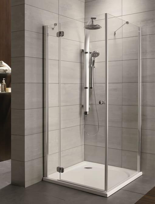 Kabina prysznicowa kwadratowa Radaway Torrenta KDJ 90x90 lewa szkło carre wys. 185 cm. 32202-01-10NL