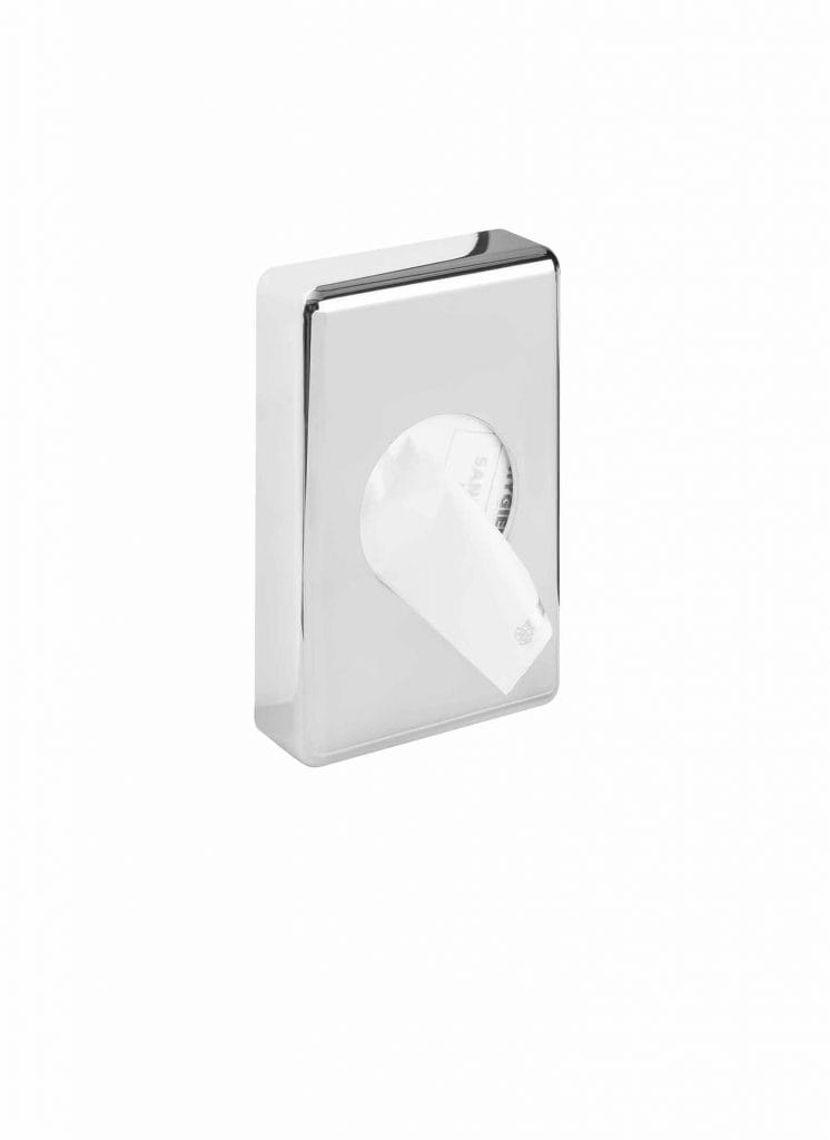 Stella pojemnik na torebki higieniczne/ABS chrom   23.012