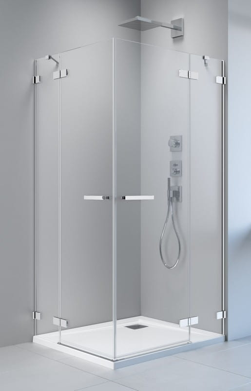 Kabina prysznicowa prostokątna Radaway Arta KDD II 90 x 80 szkło przejrzyste wys. 200 cm, 386455-03-01L/386170-03-01L/386420-03-01R/386170-03-01R