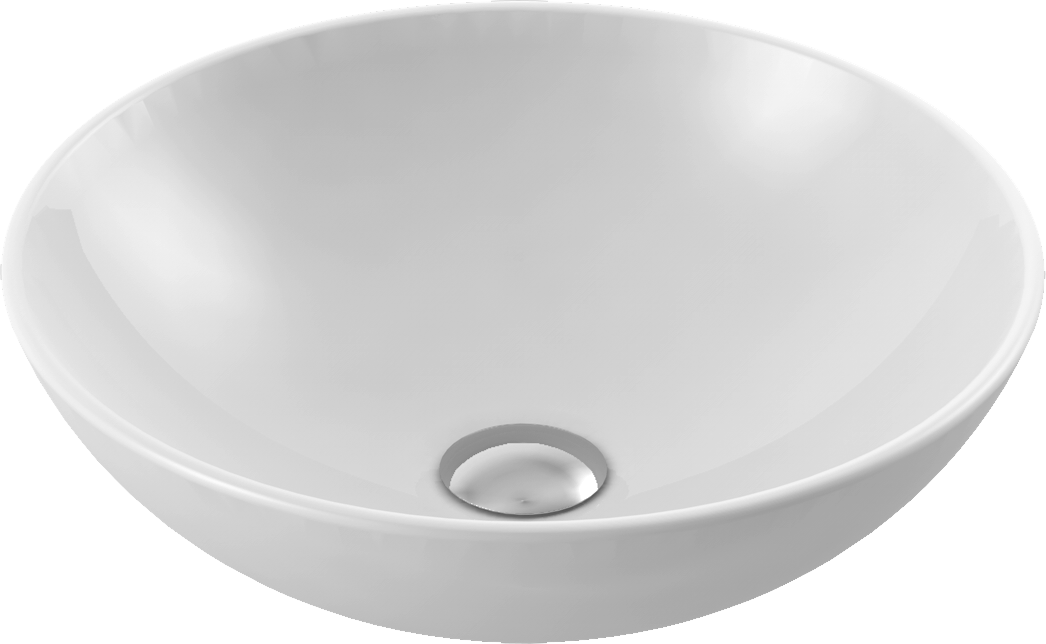 CeraStyle  umywalka Zero, 46 cm 071600
