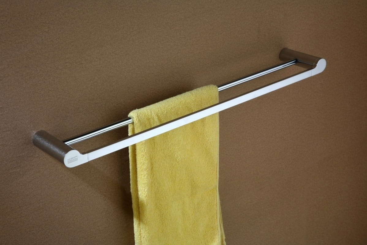 Art Platino Doreo wieszak na ręczniki podwójny chrom DOR-97022
