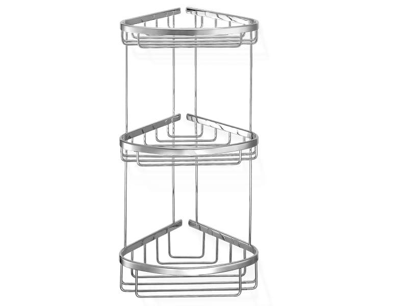 Sanco koszyk łazienkowy potrójny rogowy A3-010
