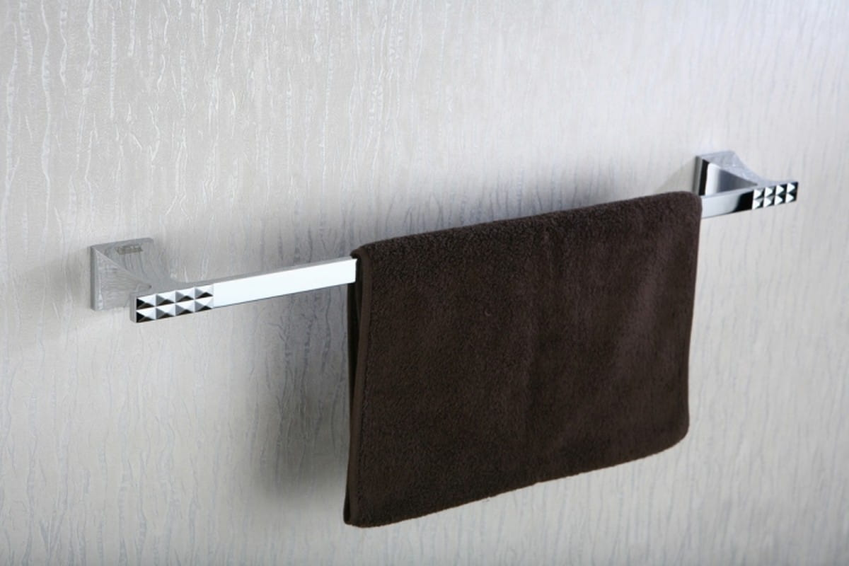 Art Platino Panama reling, wieszak na ręcznik pojedynczy chrom PAN-86020