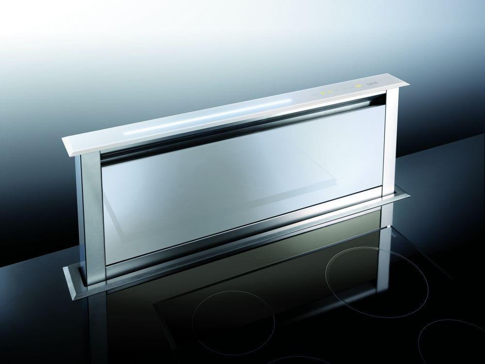 Best Strip Vetro Biały 90 cm,  okap kuchenny do zabudowy w blacie 07758051