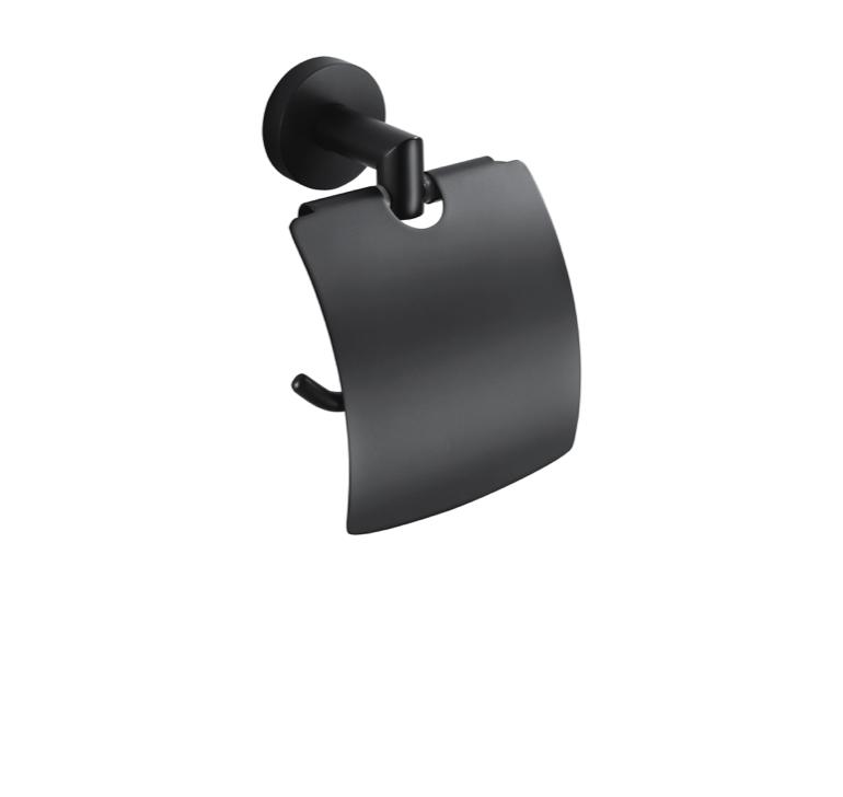 Stella Classic uchwyt na papier toaletowy 07.440-B czarny