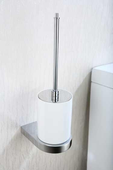 Art Platino Liwio szczotka WC wisząca chrom LIW-56090