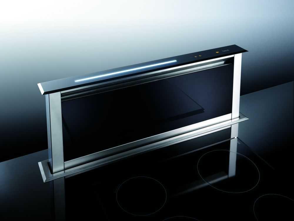 Best Lift Vetro HF Czarny 60 cm,  okap kuchenny do zabudowy w blacie   07756001A