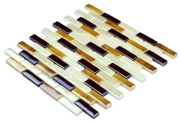 Goccia Classic mozaika szklana 18x62 2202