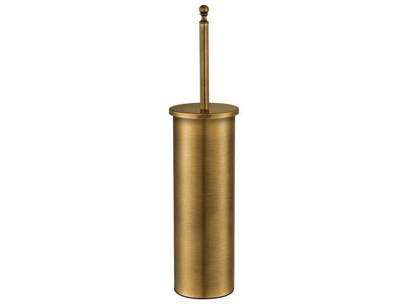 Sanco Retro ELINA  szczotka WC  Stare złoto A25-90514