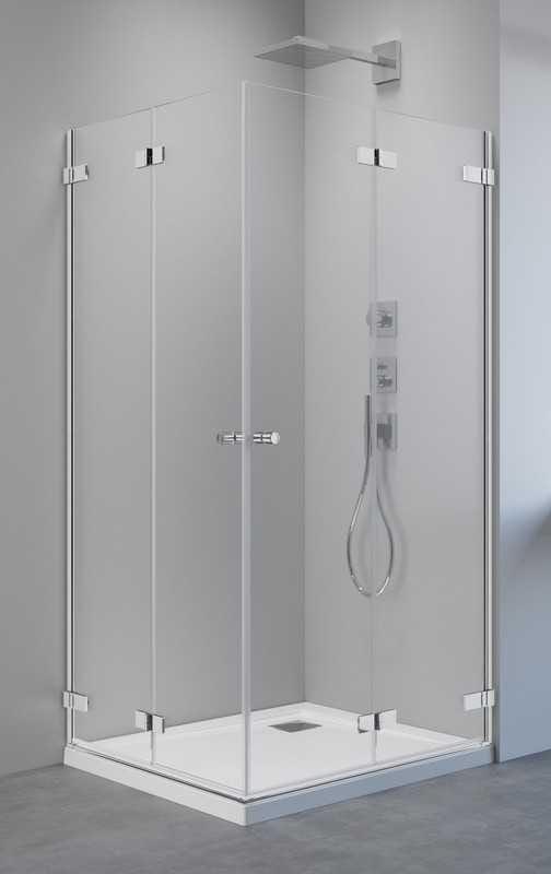 Kabina prysznicowa prostokątna Radaway Arta KDD B 90 x 80 szkło przejrzyste wys. 200 cm, 386161-03-01L/386160-03-01R