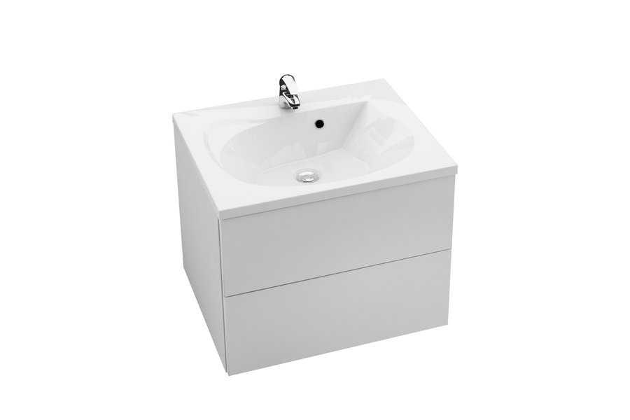Ravak Szafka podumywalkowa SD 600 Rosa II  biała/biała X000000924