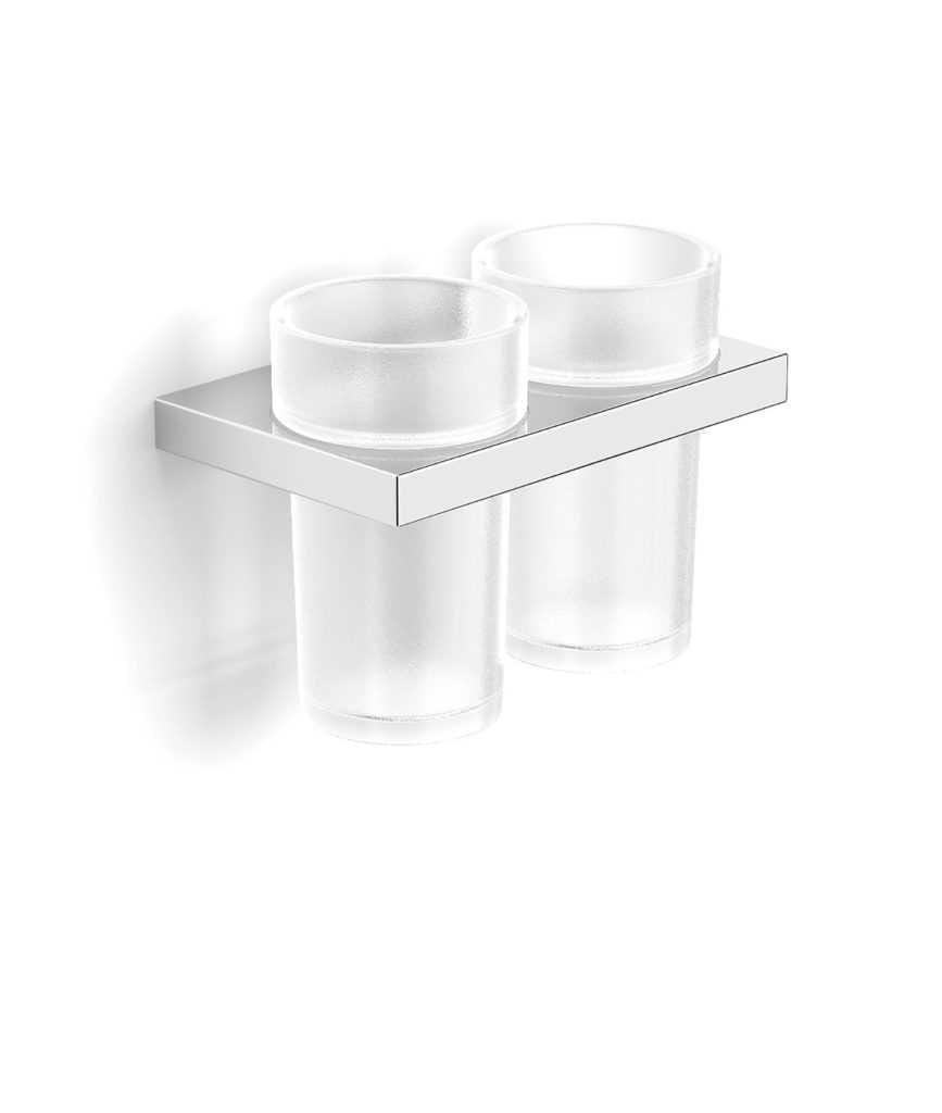 Stella New York uchwyt z dwoma szklankami 05.412