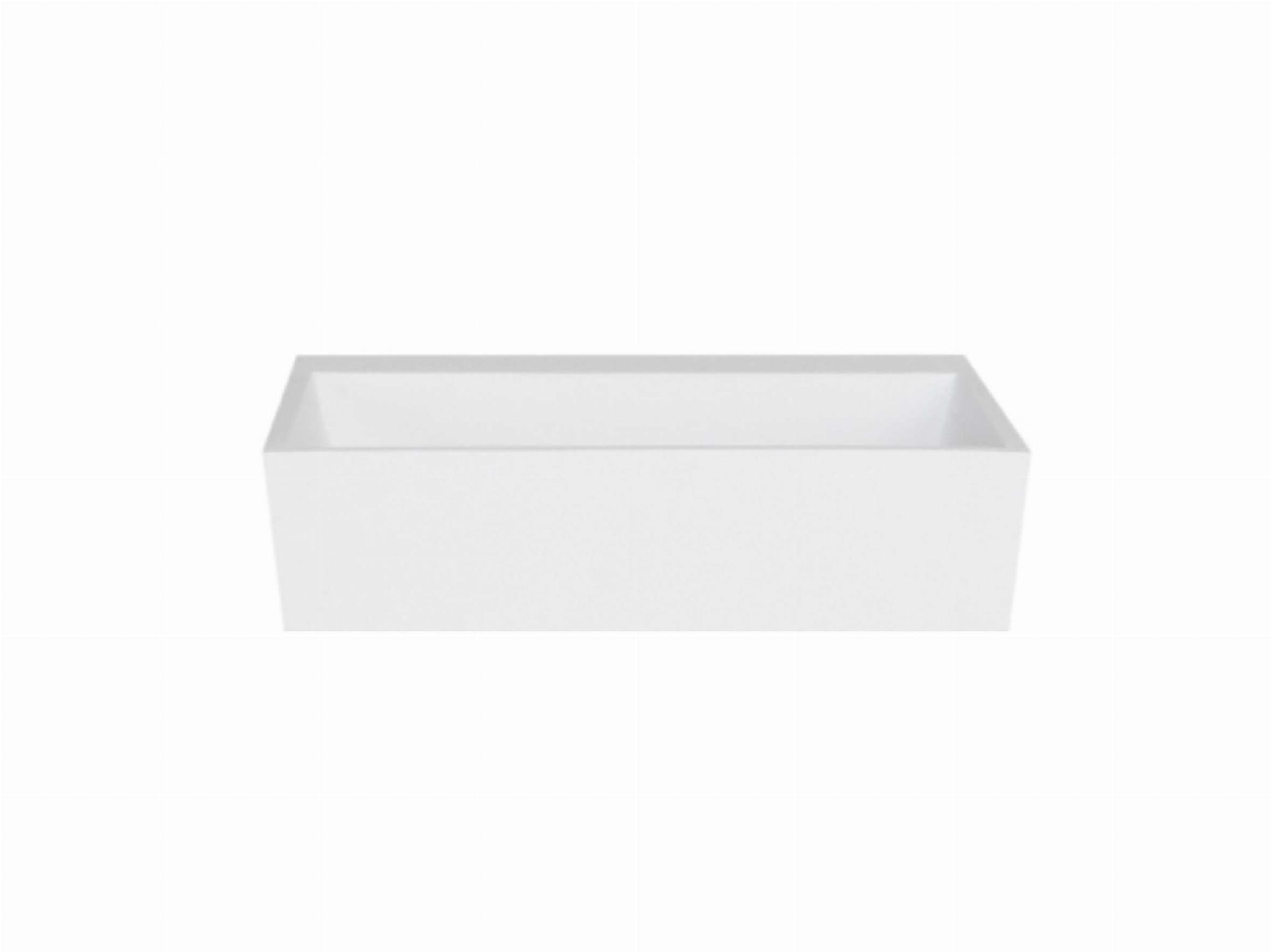 Besco umywalka nablatowa Vera 40x50x15 cm biała